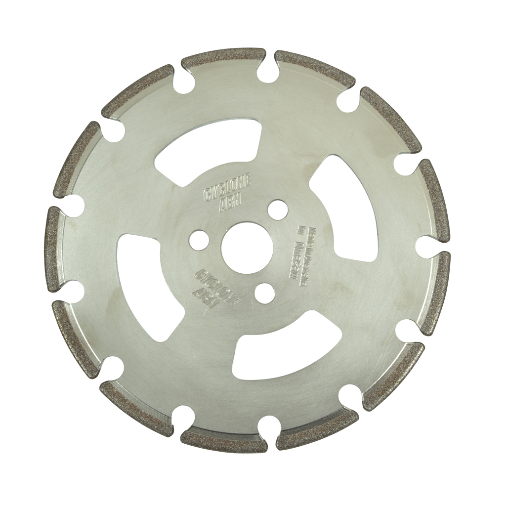 DinaSaw Cyclone ABN 250x6x32 Super Abrasive Grinding Wheel For use on hardened steel only