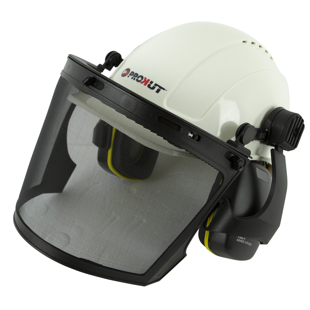 PROKUT SAFETY HELMET KIT PREMIUM QUALITY (WHITE ONLY)