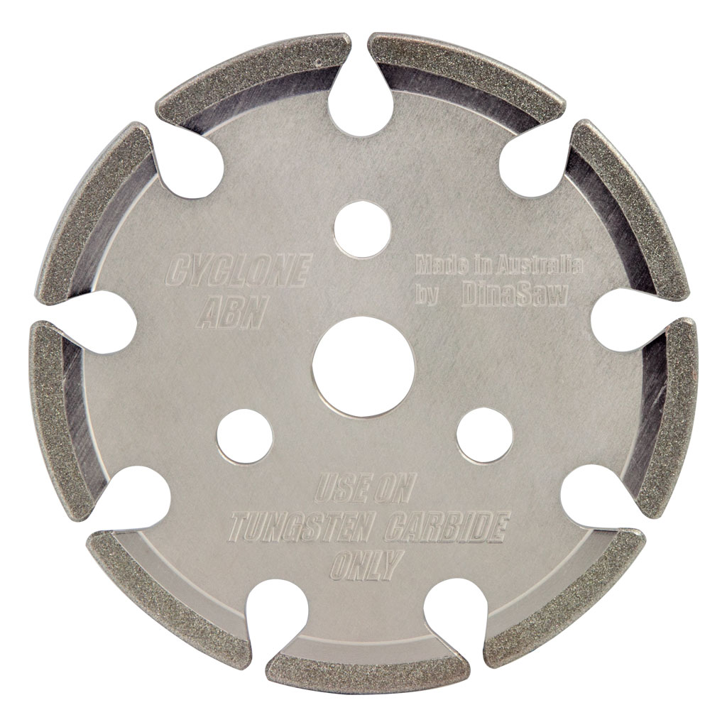 DINASAW DIAMOND GRINDING WHEEL 145MM X 3MM X 22.2MM SUITS 0.325