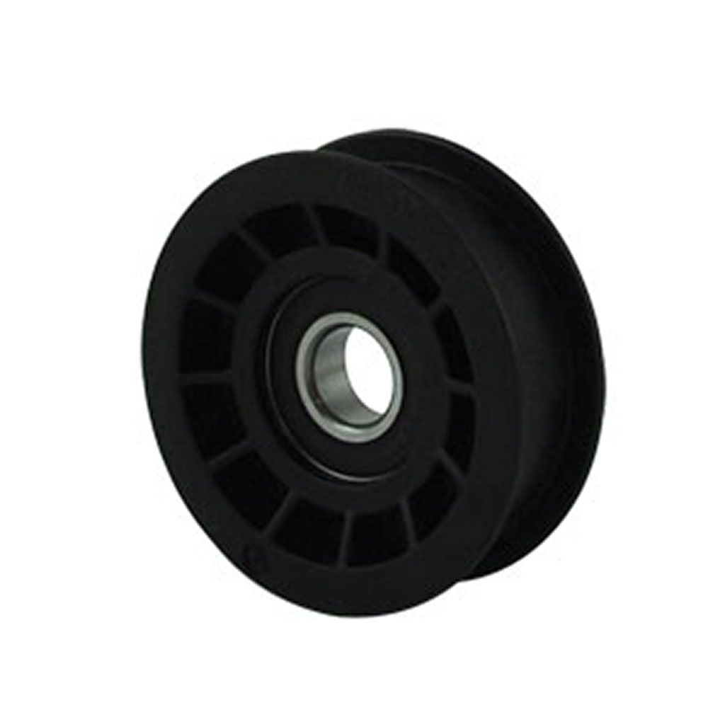 PULLEY FLAT IDLER PLASTIC UNIVERSAL (A 3-3/16